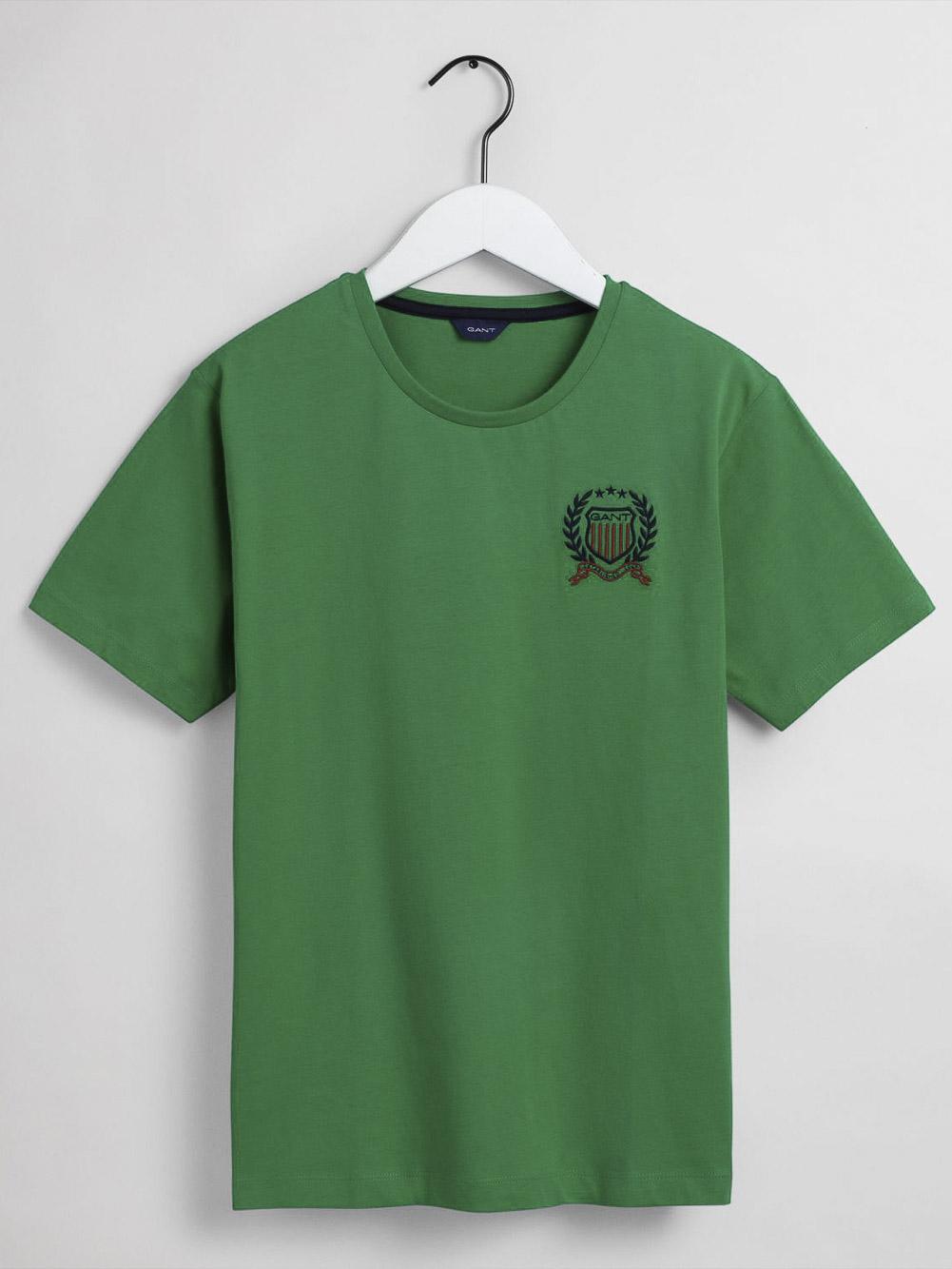 GANT Μπλούζα t-shirt 3G905187-367 ΠΡΑΣΙΝΟ