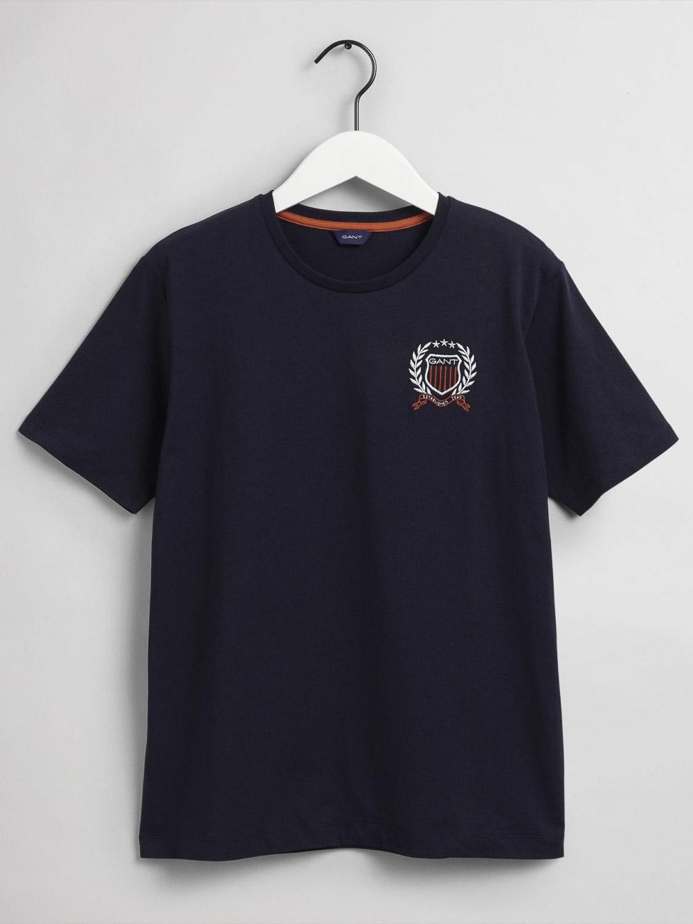 GANT Μπλούζα t-shirt 3G905187-433 ΣΚΟΥΡΟ ΜΠΛΕ