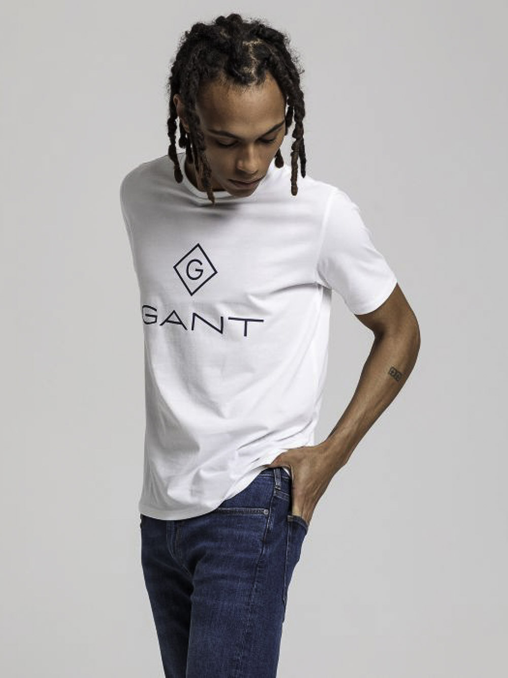 GANT Μπλούζα t-shirt 3G905157-110 ΛΕΥΚΟ