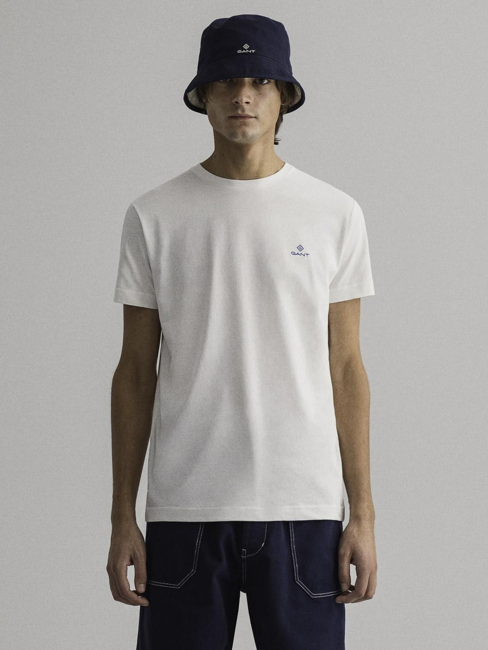 GANT Μπλούζα t-shirt 3G2053004-113 ΕΚΡΟΥ