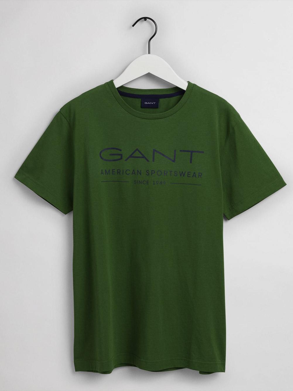 GANT Μπλούζα t-shirt 3G2003093-321 ΑΝΟΙΧΤΟ ΠΡΑΣΙΝΟ