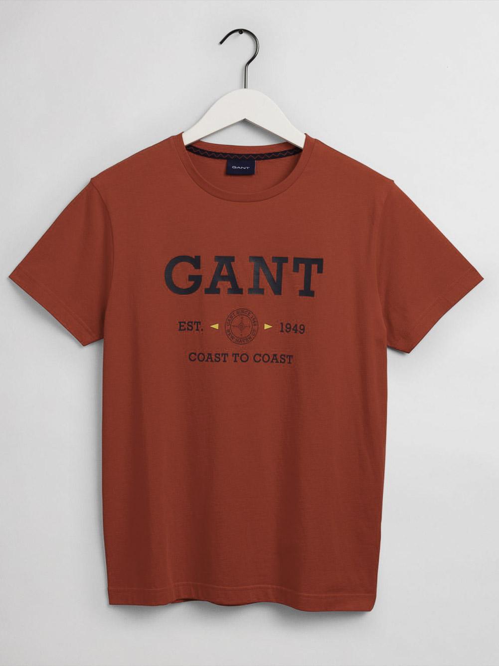 GANT Μπλούζα t-shirt 3G2003094-620 ΑΝΟΙΧΤΟ ΚΟΚΚΙΝΟ