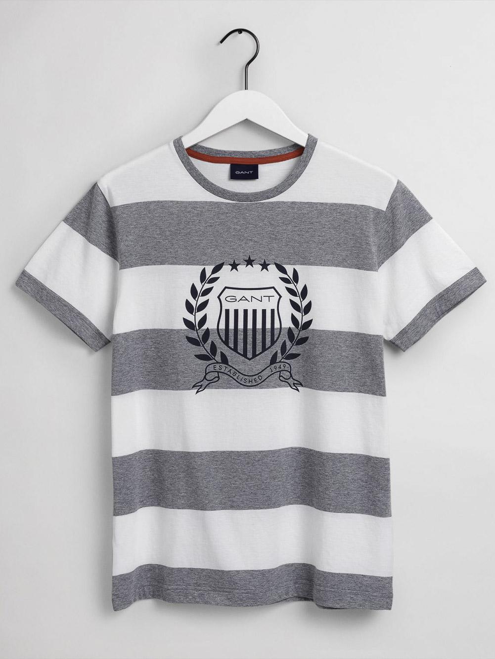 GANT Mπλούζα t-shirt 3G2003098-93 ΓΚΡΙ
