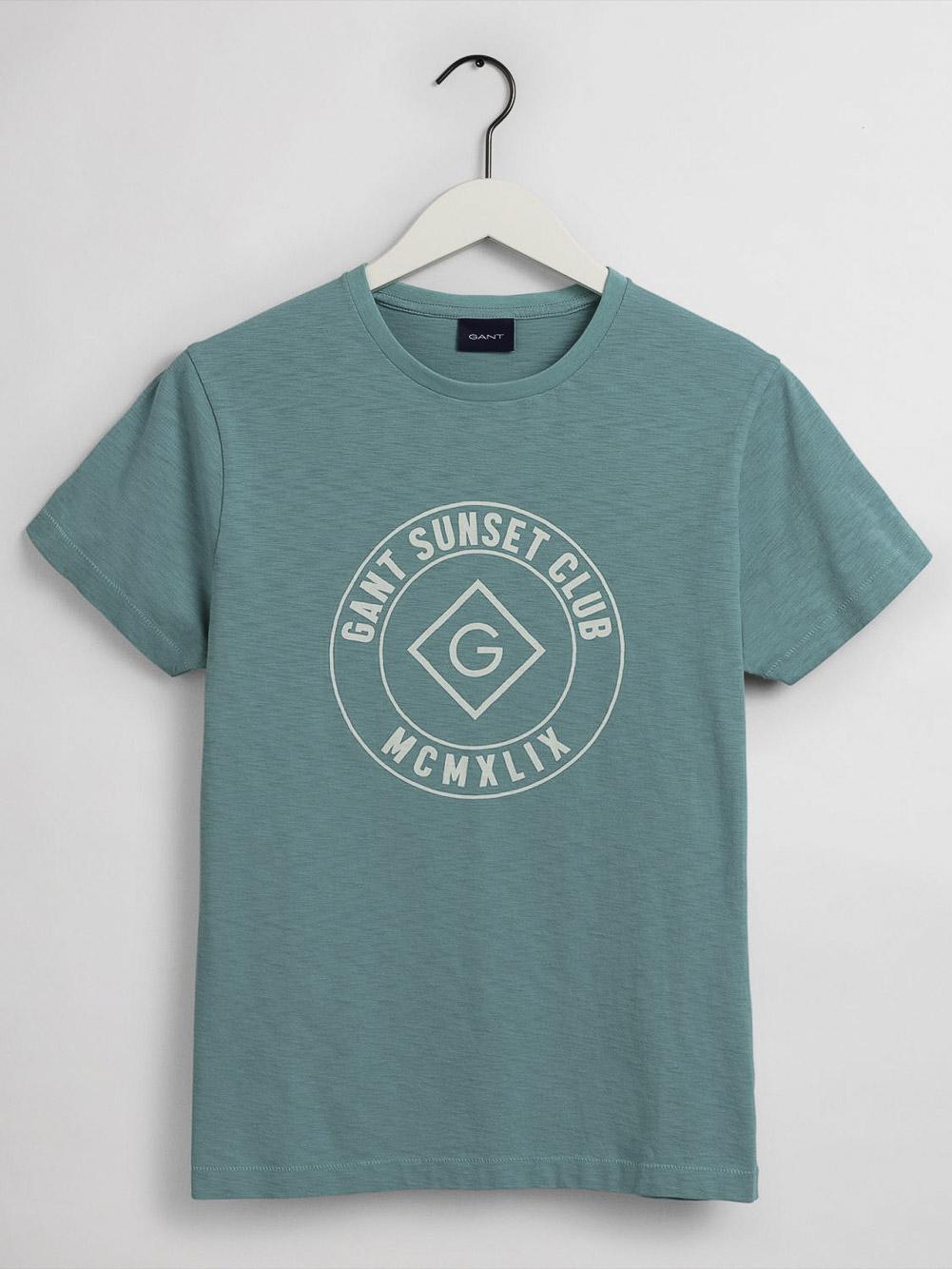 GANT Mπλούζα t-shirt 3G2023024-368 ΒΕΡΑΜΑΝ