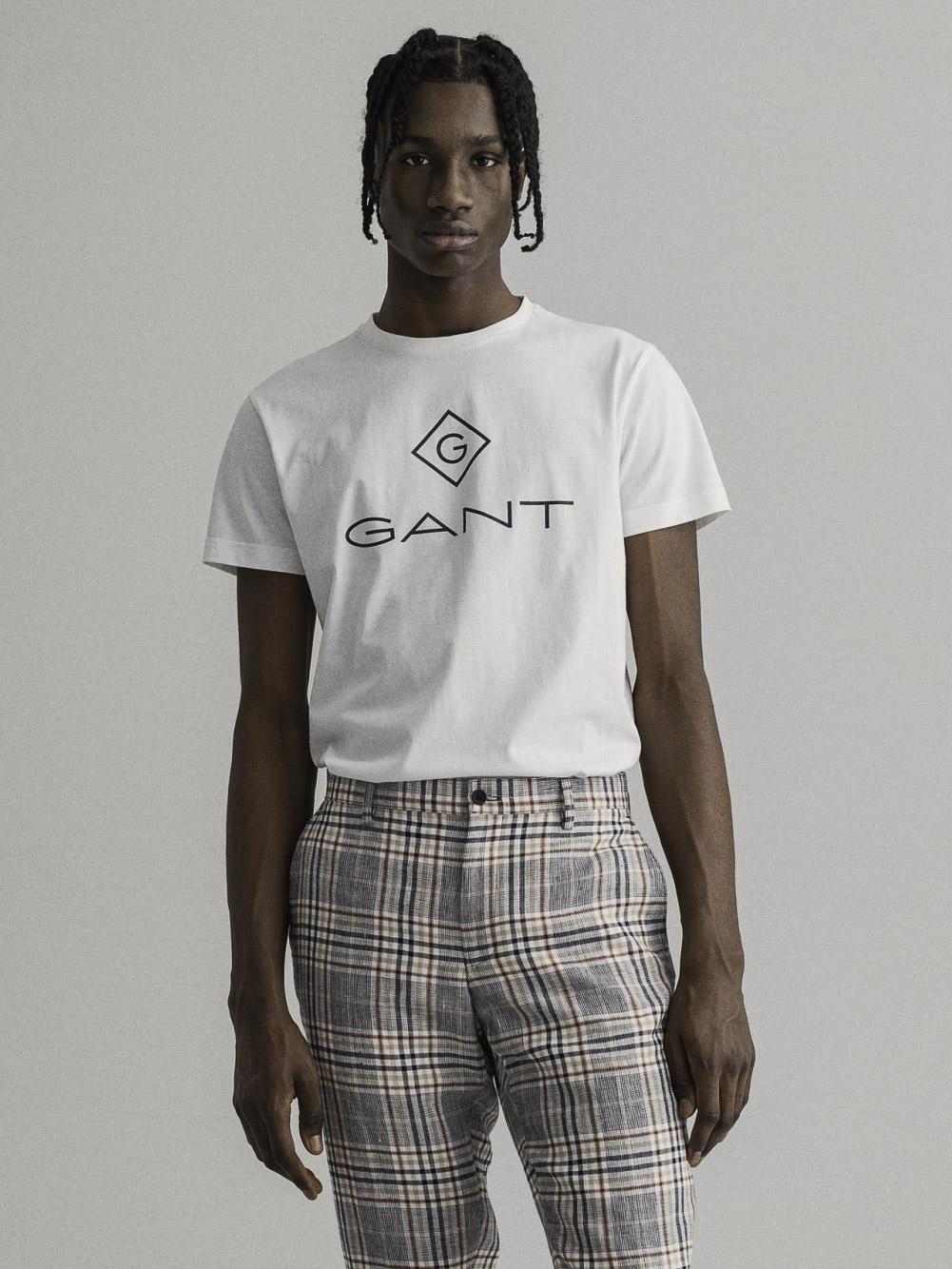 GANT Μπλούζα t-shirt 3G2023000-110 ΛΕΥΚΟ