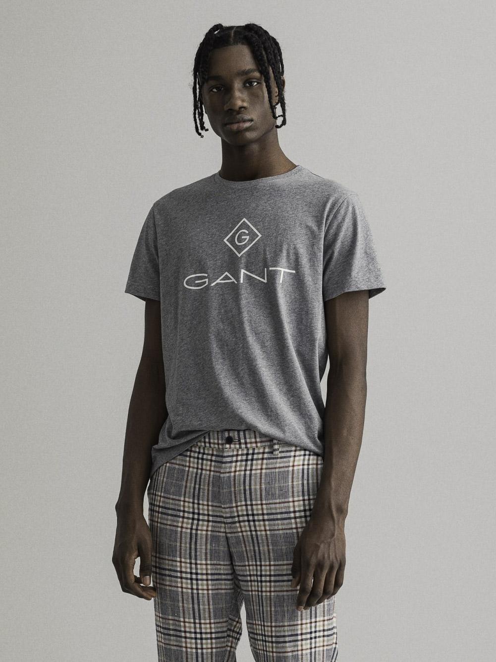 GANT Μπλούζα t-shirt 3G2023000-93 ΓΚΡΙ