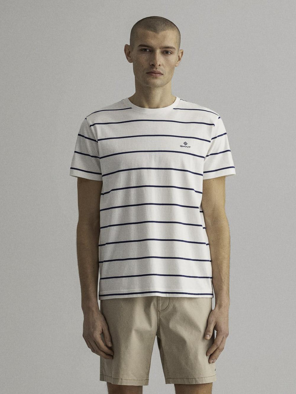 GANT Μπλούζα t-shirt 3G2023001-113 ΕΚΡΟΥ