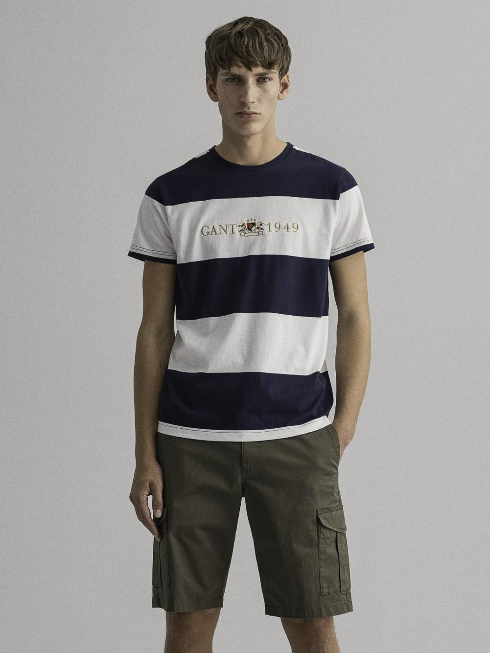 GANT Μπλούζα t-shirt 3G2023021-409 ΜΠΛΕ