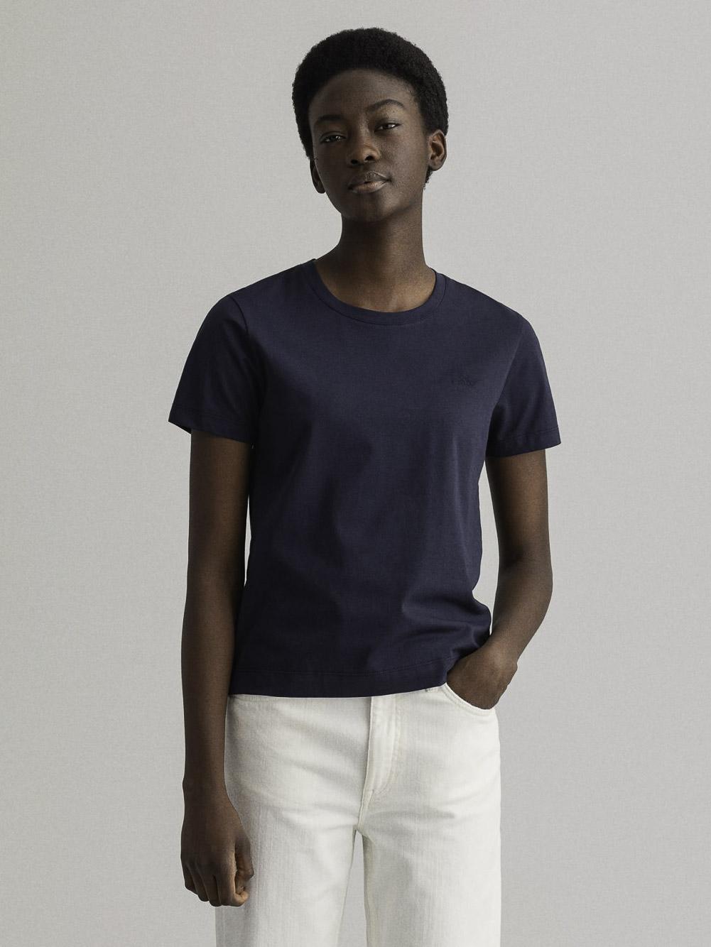 GANT Μπλούζα t-shirt 3GW4200433-5 ΜΑΥΡΟ