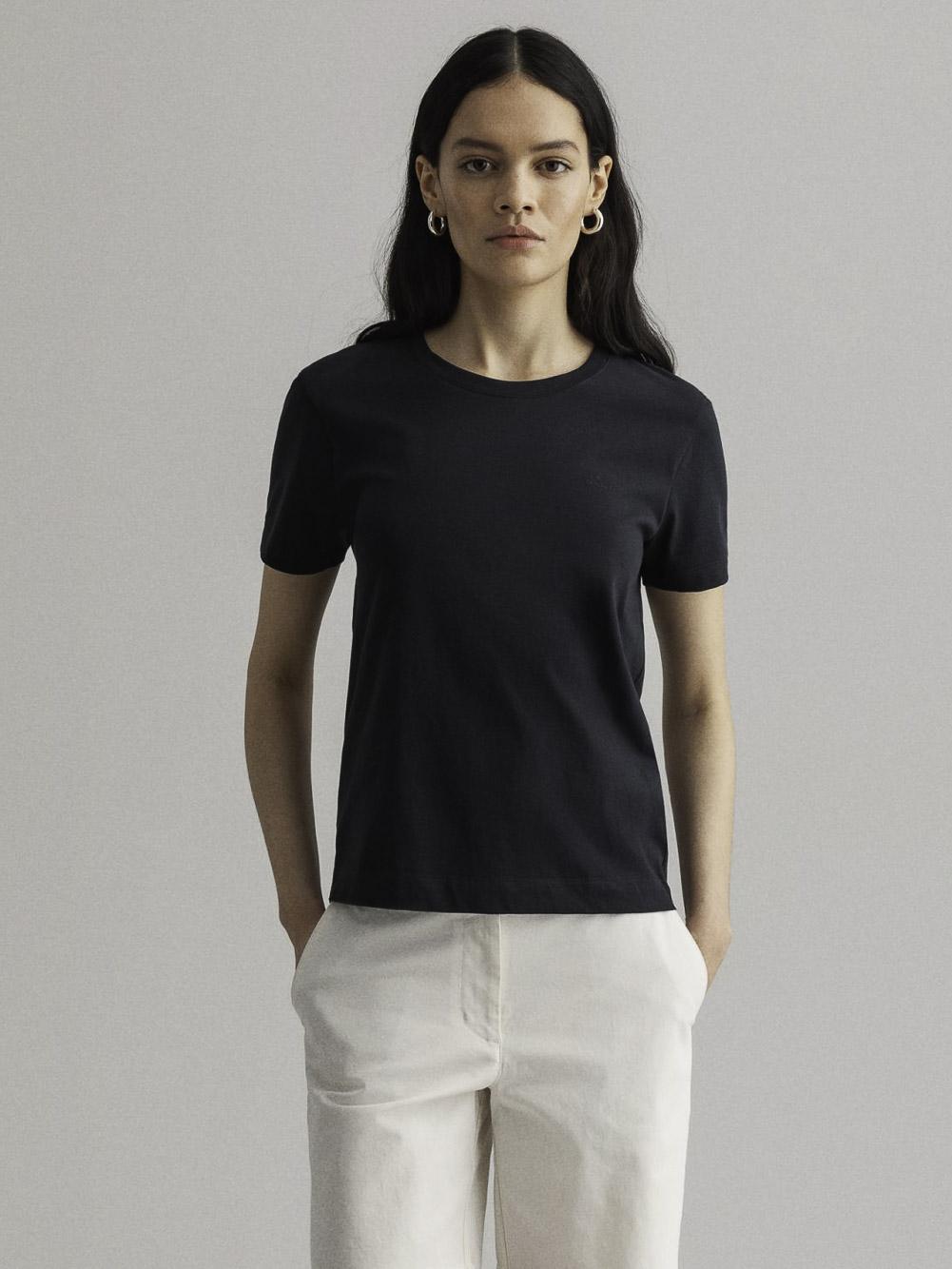 GANT Μπλούζα t-shirt 3GW4200433-433 ΣΚΟΥΡΟ ΜΠΛΕ