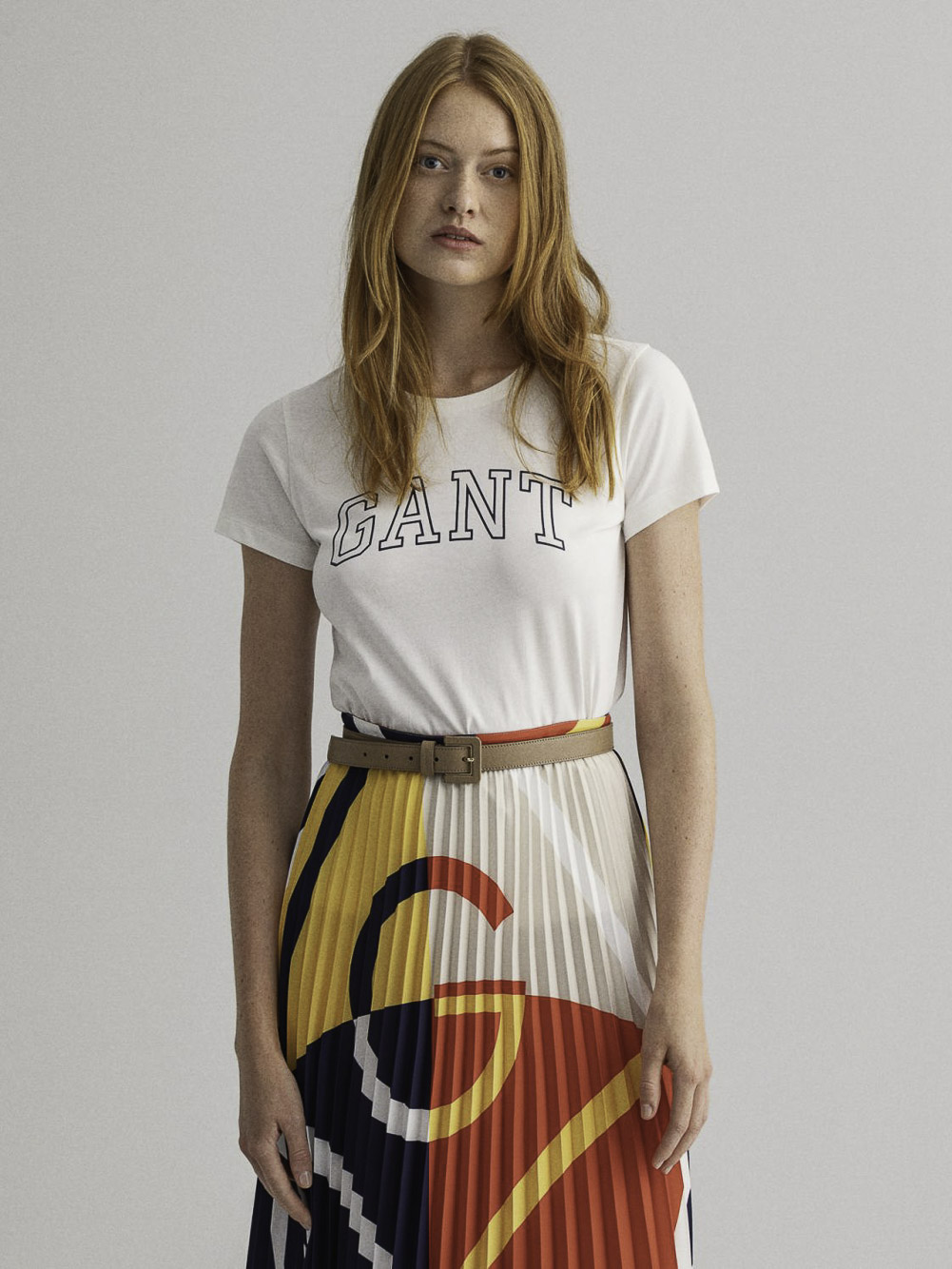 GANT Μπλούζα t-shirt 3GW4200409-113 ΕΚΡΟΥ