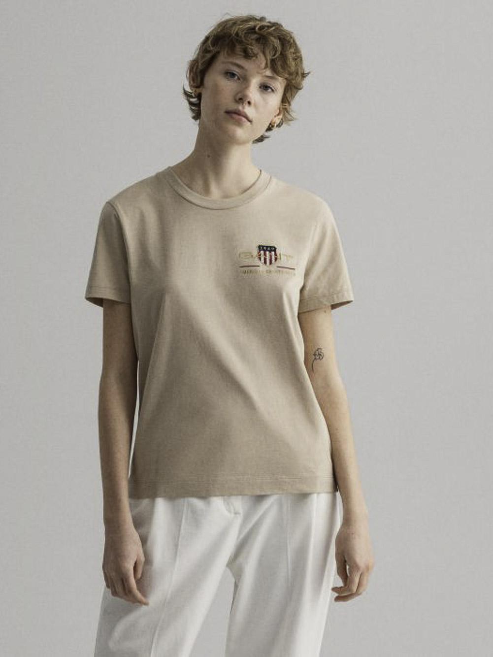 GANT Μπλούζα t-shirt 3GW4200417-277 ΜΠΕΖ