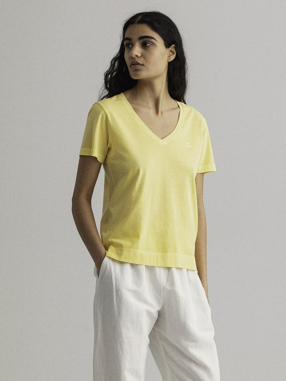 GANT Μπλούζα t-shirt 3GW4203468-749 ΚΙΤΡΙΝΟ