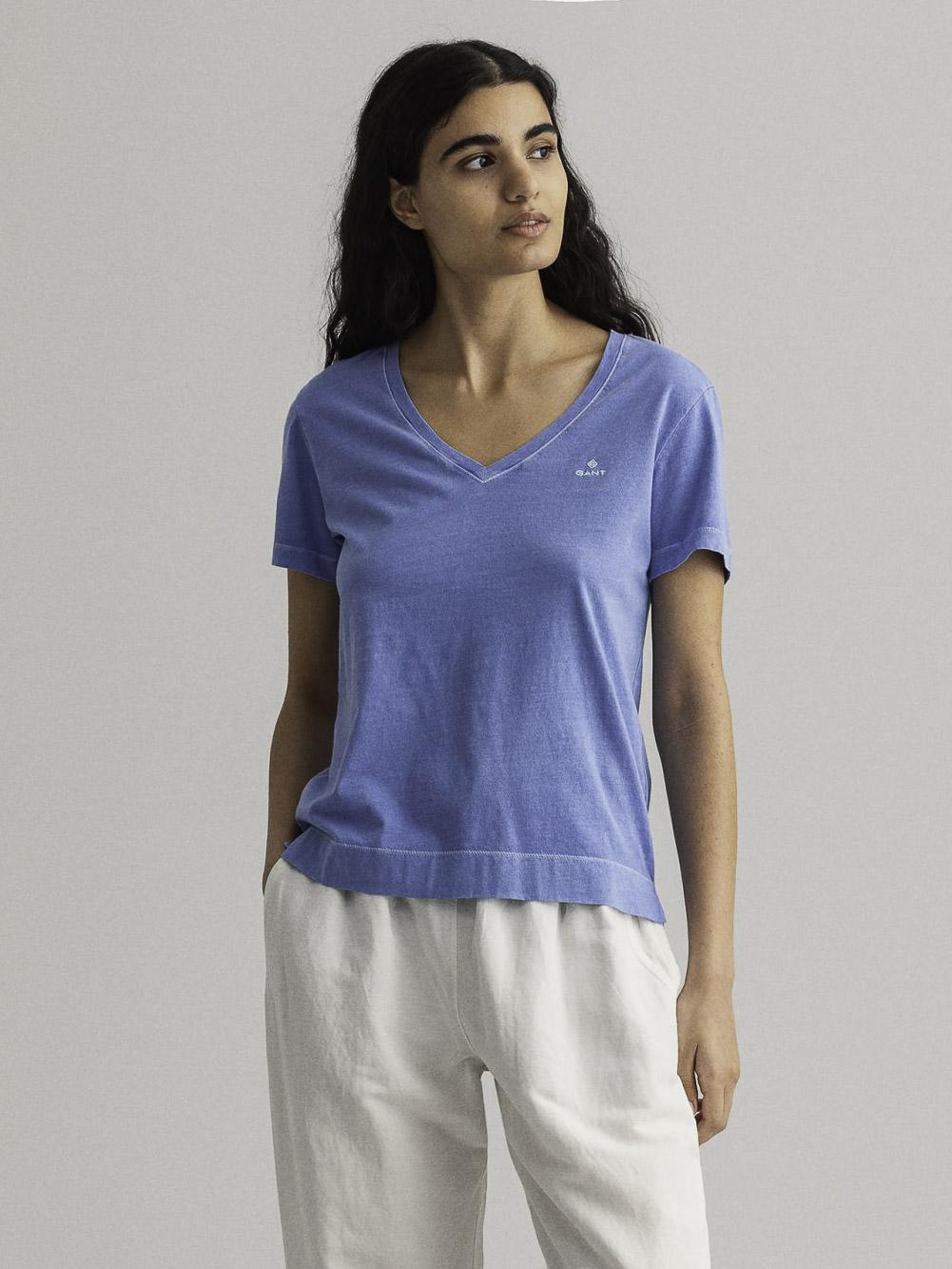 GANT Μπλούζα t-shirt 3GW4203468-445 ΚΑΑΡΩ ΓΑΛΑΖΙΟ
