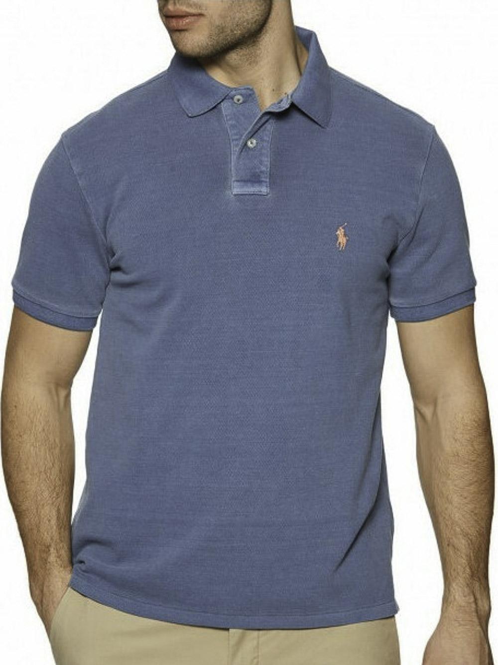 POLO RALPH LAUREN Μπλούζα Polo 710814416015 ΡΟΥΑ