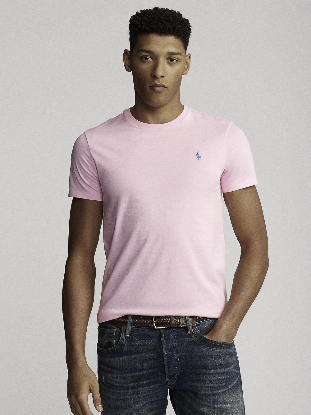 POLO RALPH LAUREN Μπλούζα T-Shirt 710671438145 ΡΟΖ