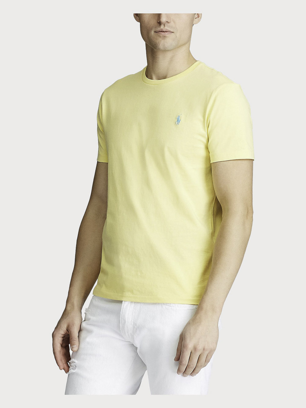 POLO RALPH LAUREN Μπλούζα T-Shirt 710671438147 ΚΙΤΡΙΝΟ