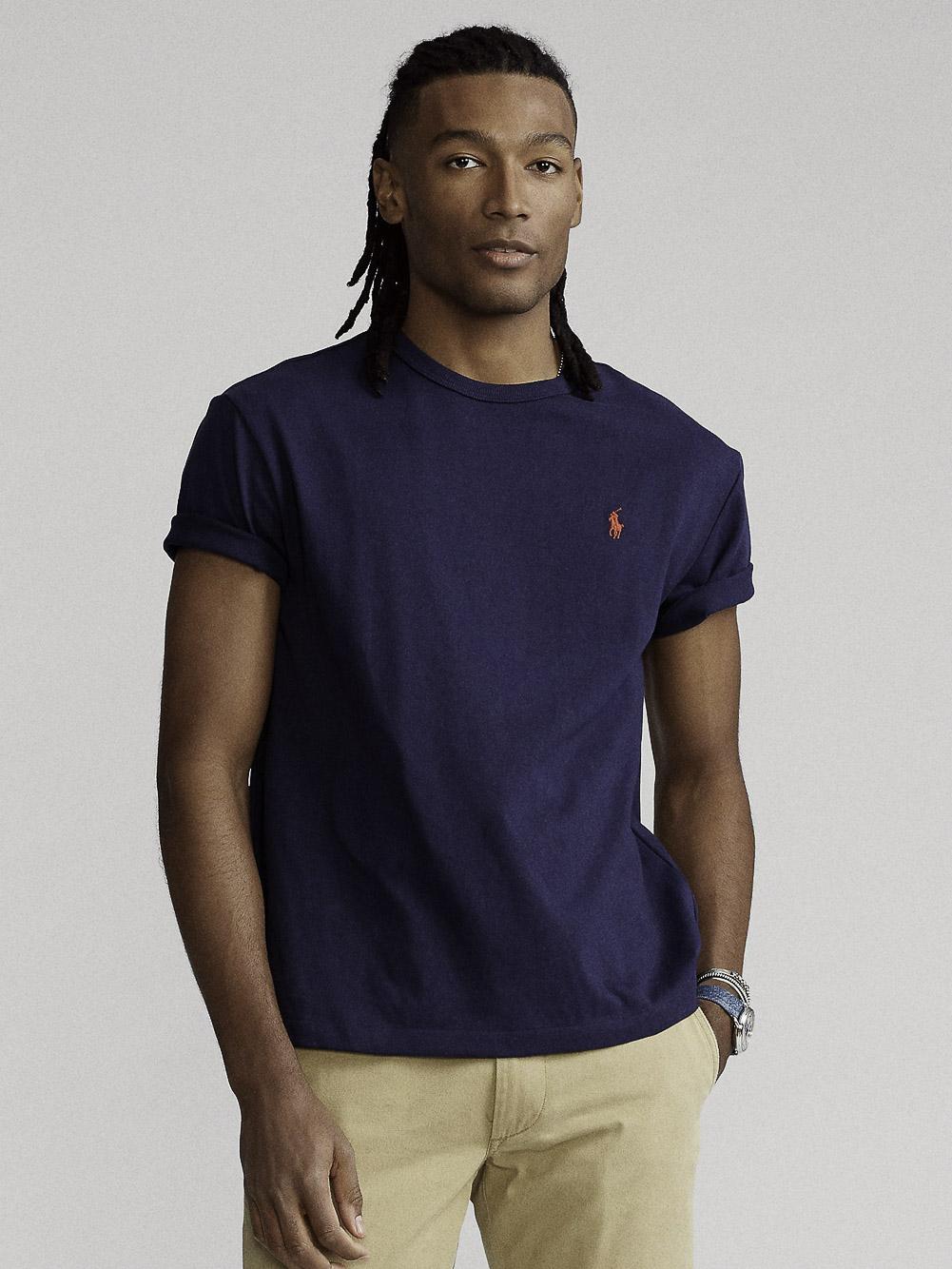 POLO RALPH LAUREN Μπλούζα T-Shirt 710680785004 ΜΠΛΕ