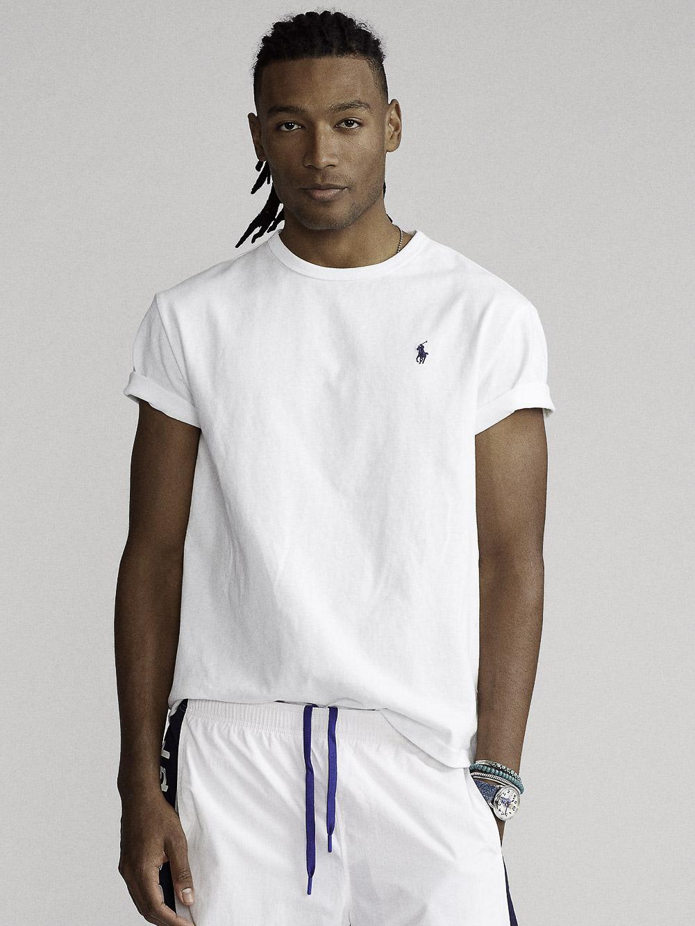 POLO RALPH LAUREN Μπλούζα T-Shirt 710680785003 ΛΕΥΚΟ