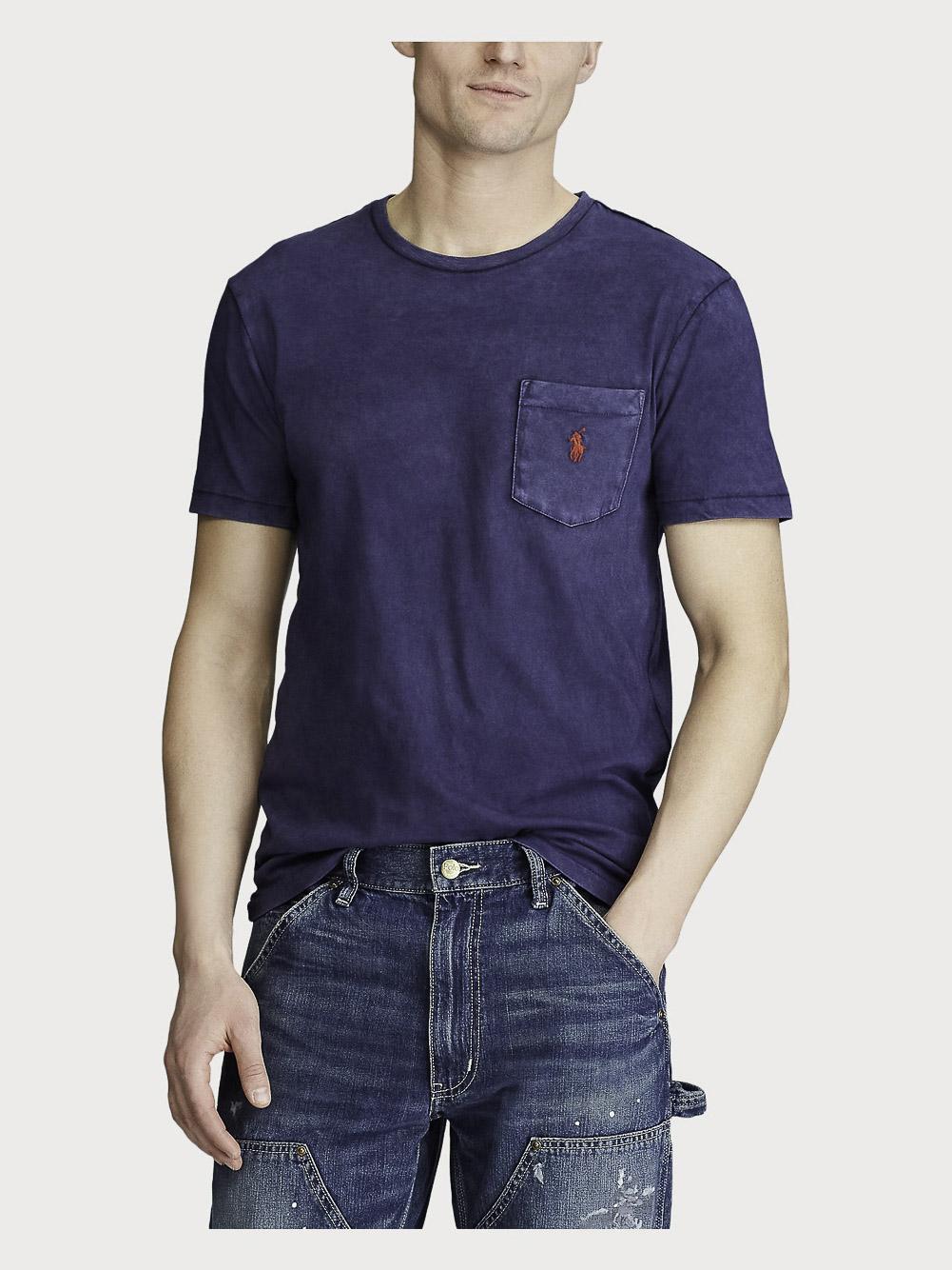 POLO RALPH LAUREN Μπλούζα T-Shirt 710795137003 ΜΠΛΕ