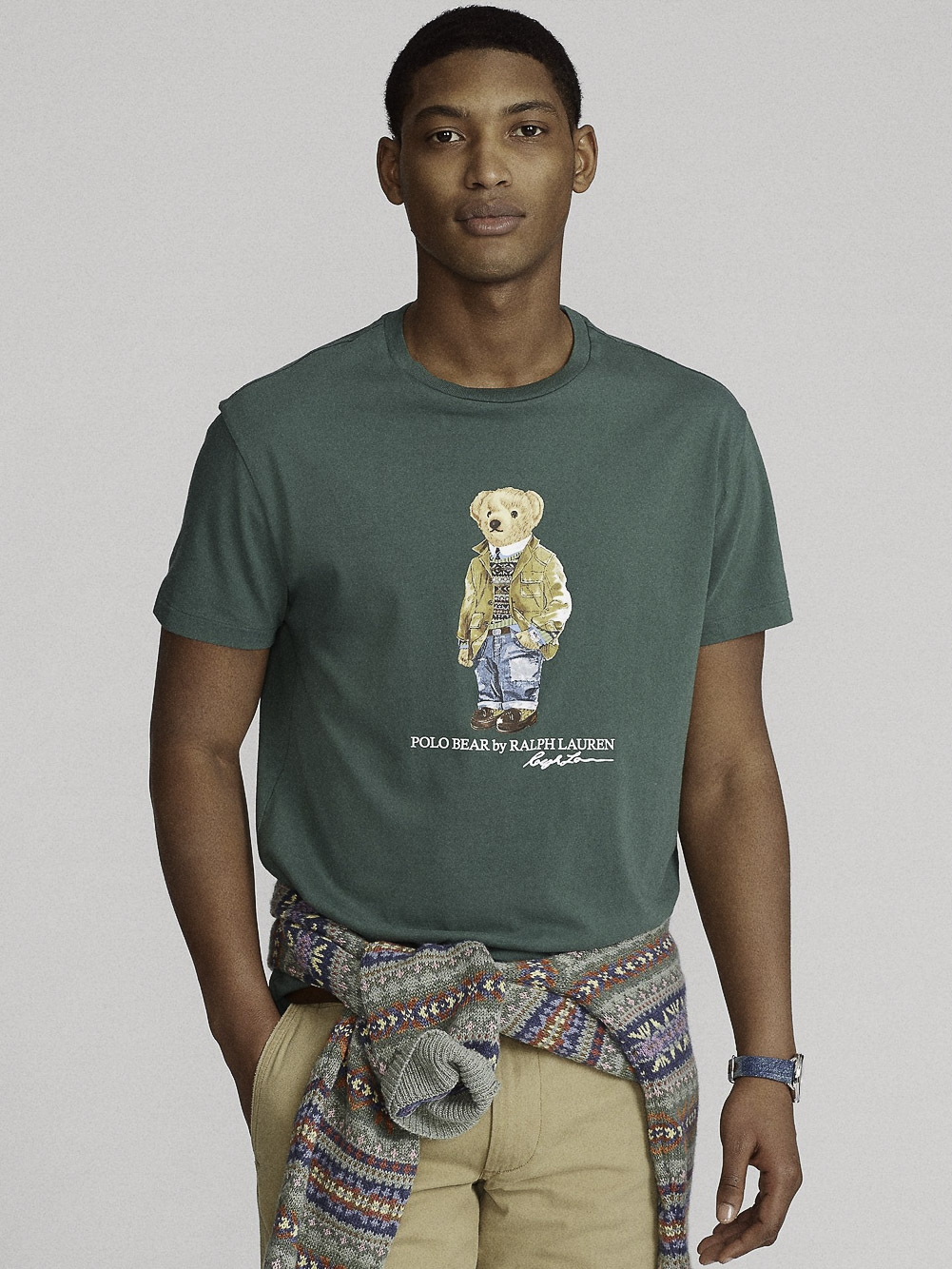POLO RALPH LAUREN Μπλούζα T-Shirt 710835761003 ΠΡΑΣΙΝΟ