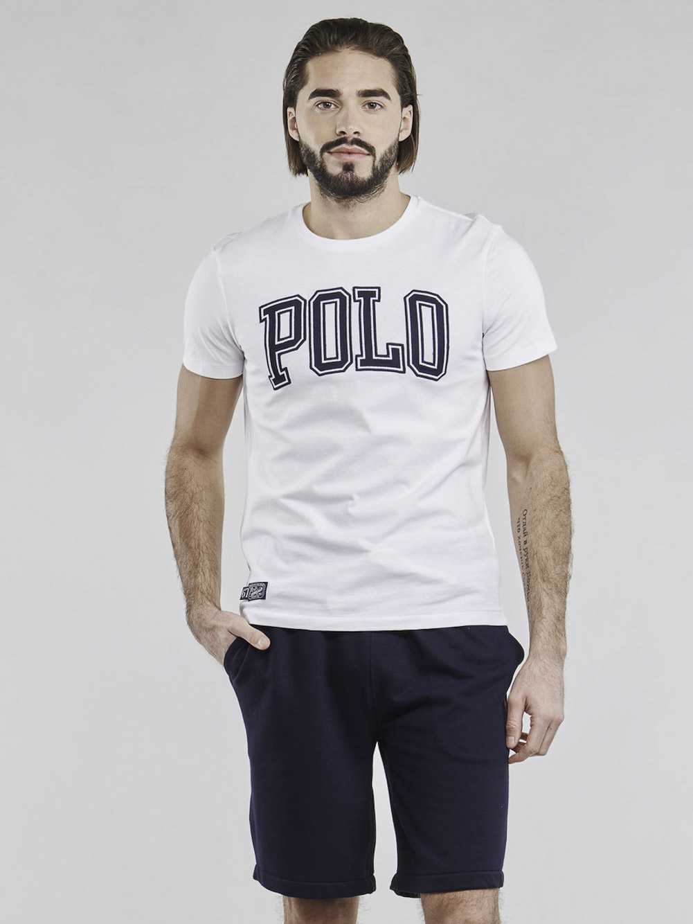 POLO RALPH LAUREN Μπλούζα T-Shirt 710840424002 ΛΕΥΚΟ