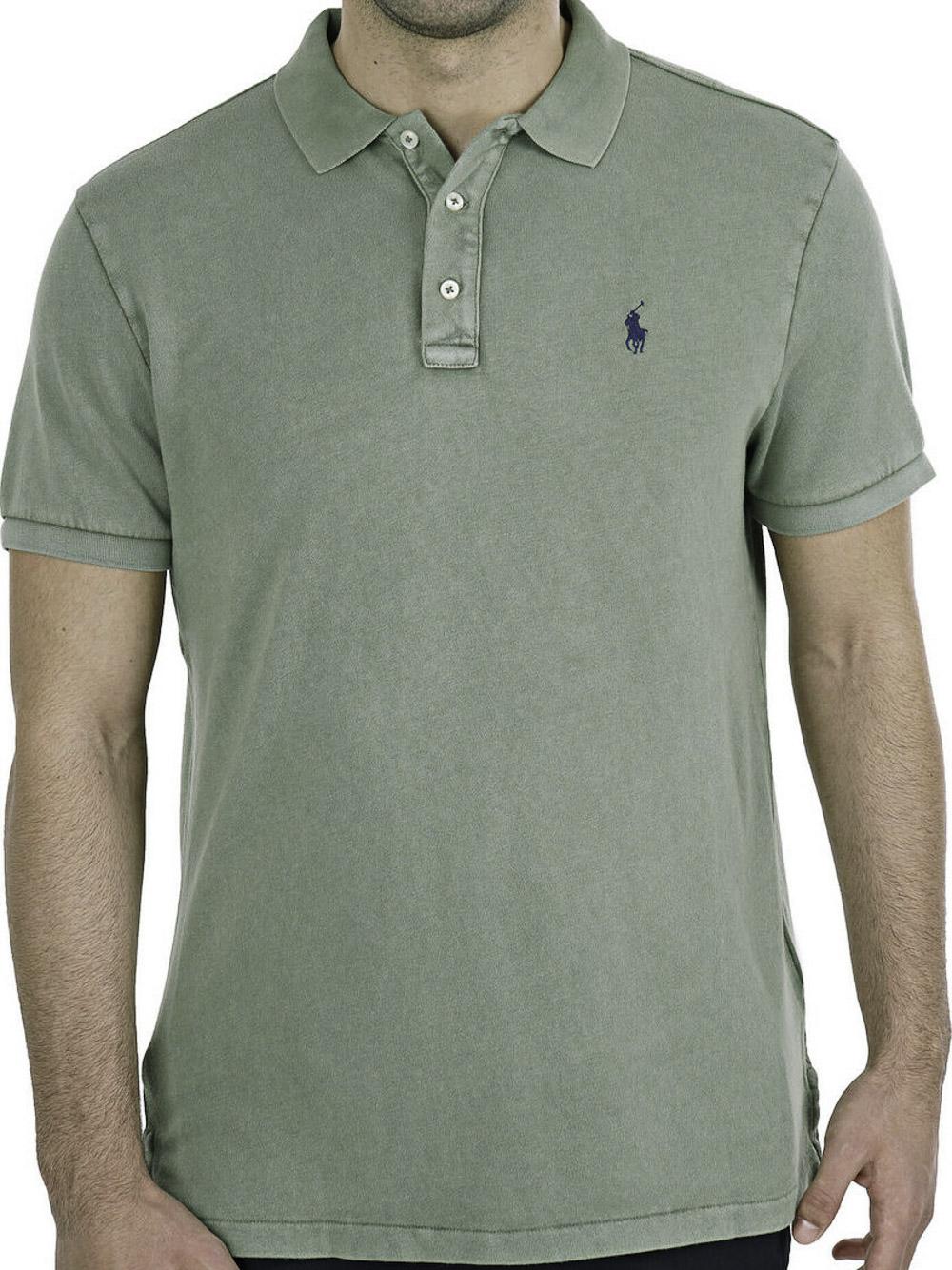 POLO RALPH LAUREN Μπλούζα Polo 710660897027 ΧΑΚΙ