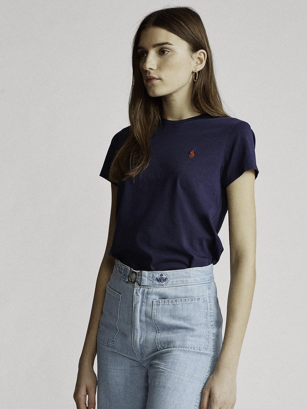 POLO RALPH LAUREN Μπλούζα T-Shirt 211734144001 ΜΠΛΕ