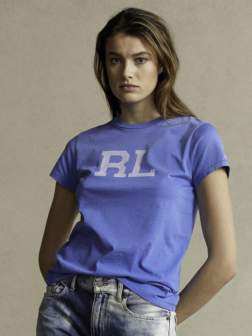 POLO RALPH LAUREN Μπλούζα T-Shirt 211800248005 ΓΑΛΑΖΙΟ