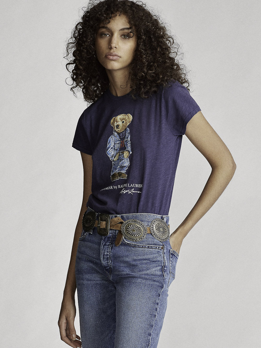 POLO RALPH LAUREN Μπλούζα T-Shirt 211785567002 ΜΠΛΕ