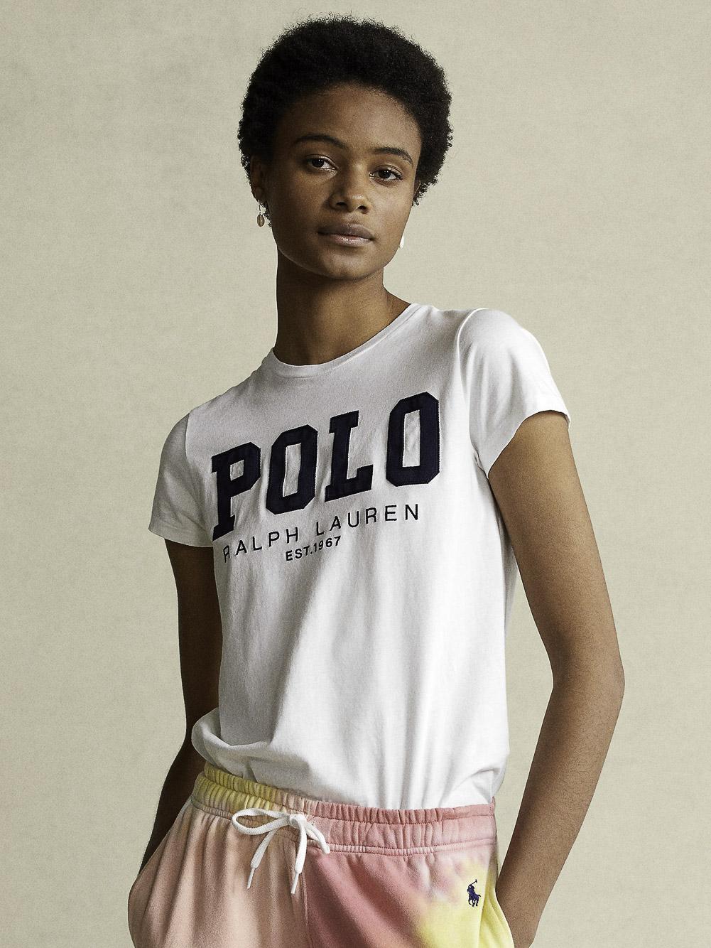 POLO RALPH LAUREN Μπλούζα T-Shirt 211827660001 ΛΕΥΚΟ