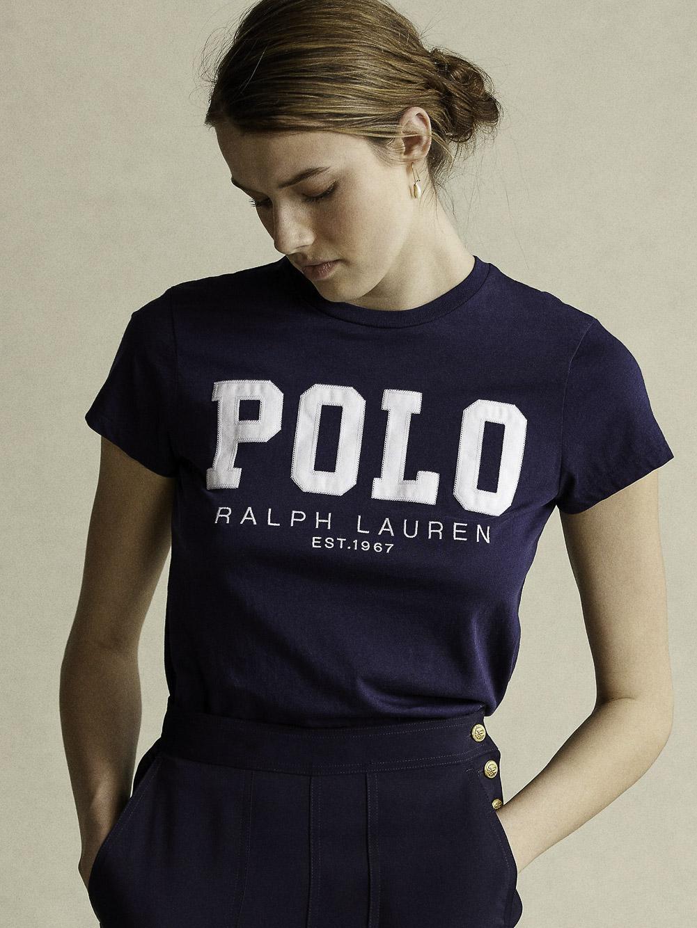 POLO RALPH LAUREN Μπλούζα T-Shirt 211827660002 ΜΠΛΕ