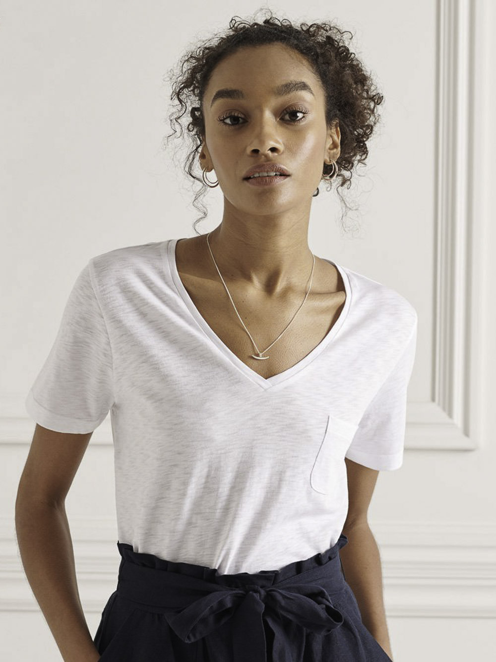 SUPERDRY Μπλούζα t-shirt W1010521A-01C ΕΚΡΟΥ