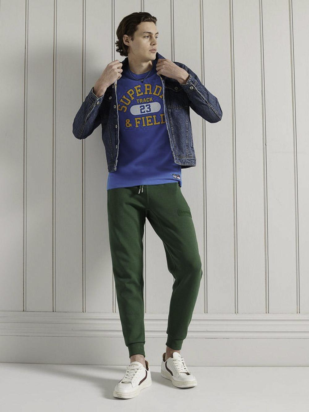 SUPERDRY Μπλούζα t-shirt M1010846A-AKY NEPTUNE ΜΠΛΕ