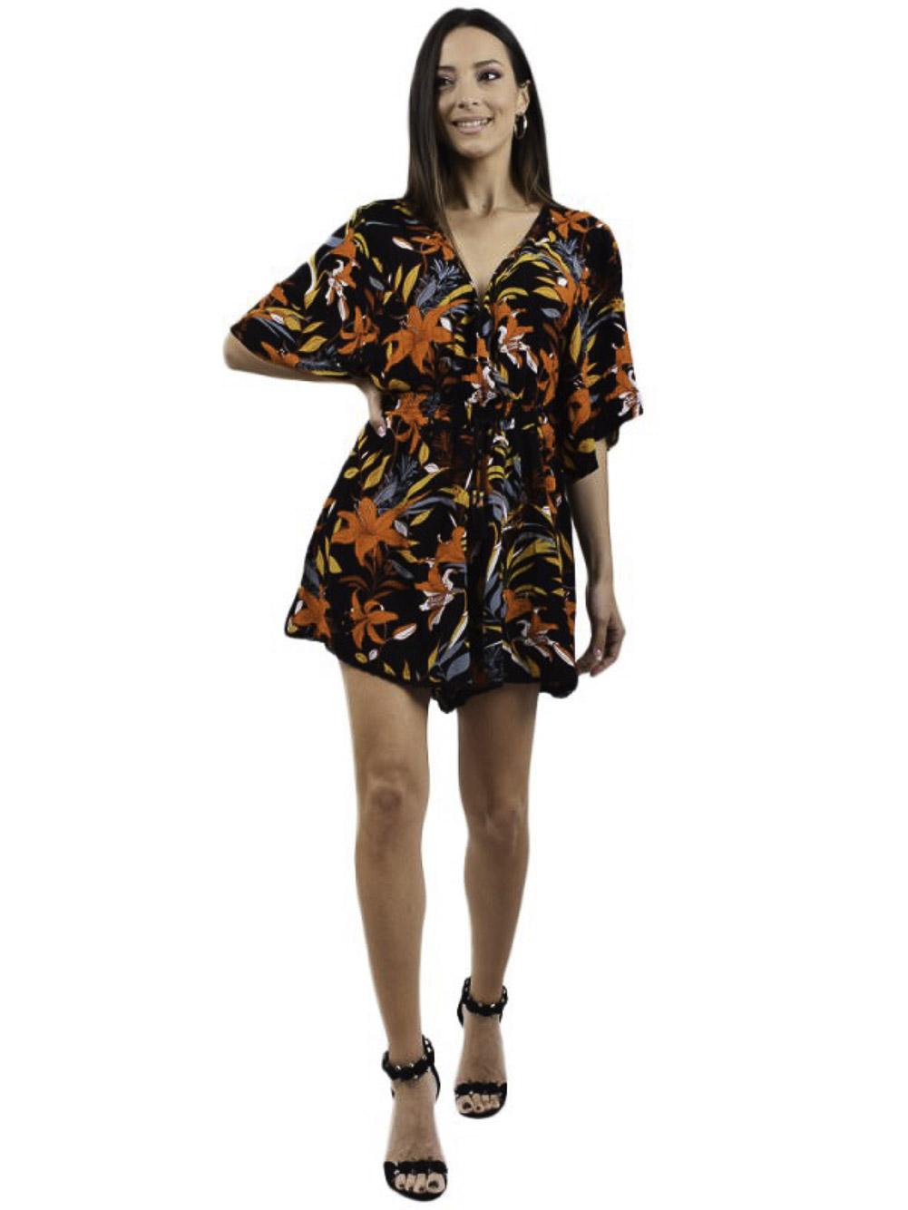 SUPERDRY Ολόσωμη φόρμα W8010725A-YFC ΜΑΥΡΟ