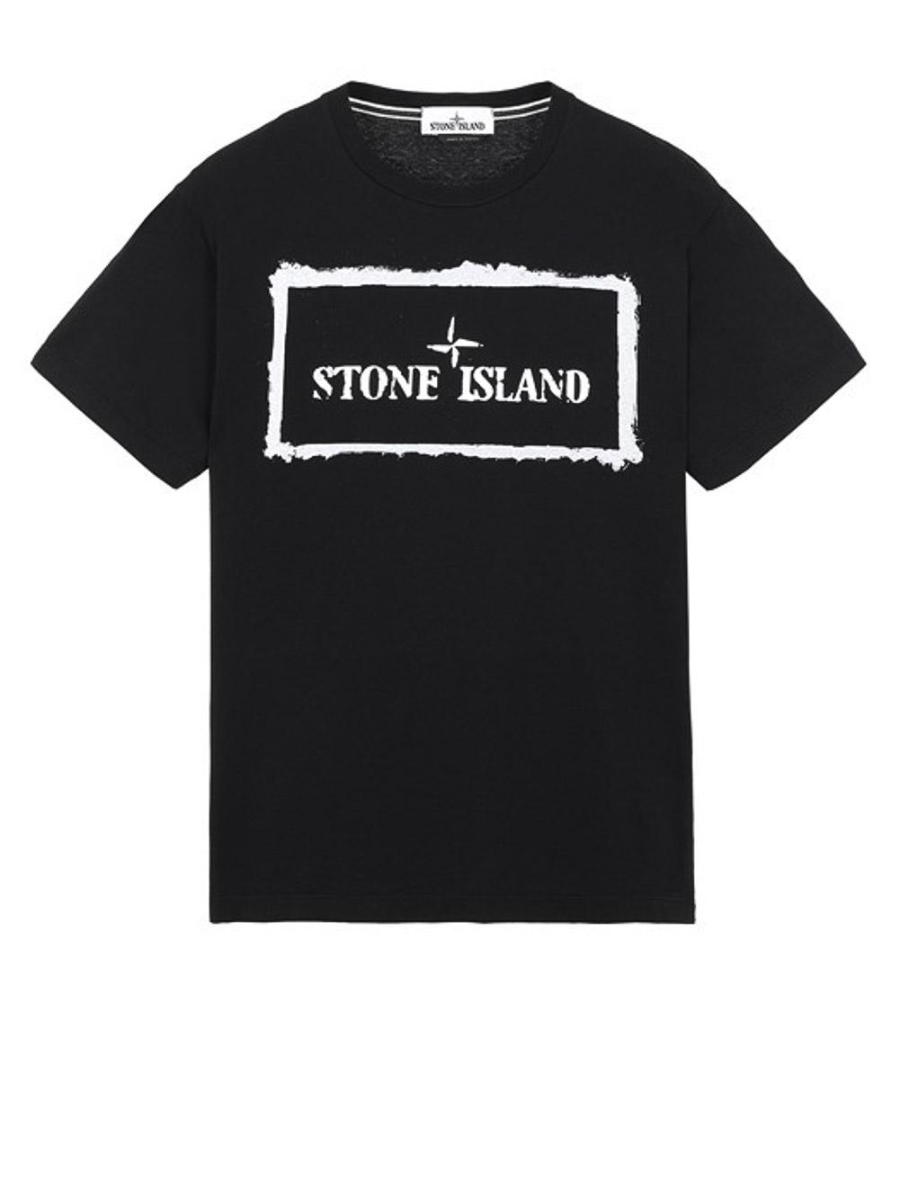 STONE ISLAND Μπλούζα T-Shirt MO74152NS80-V0029 ΜΑΥΡΟ