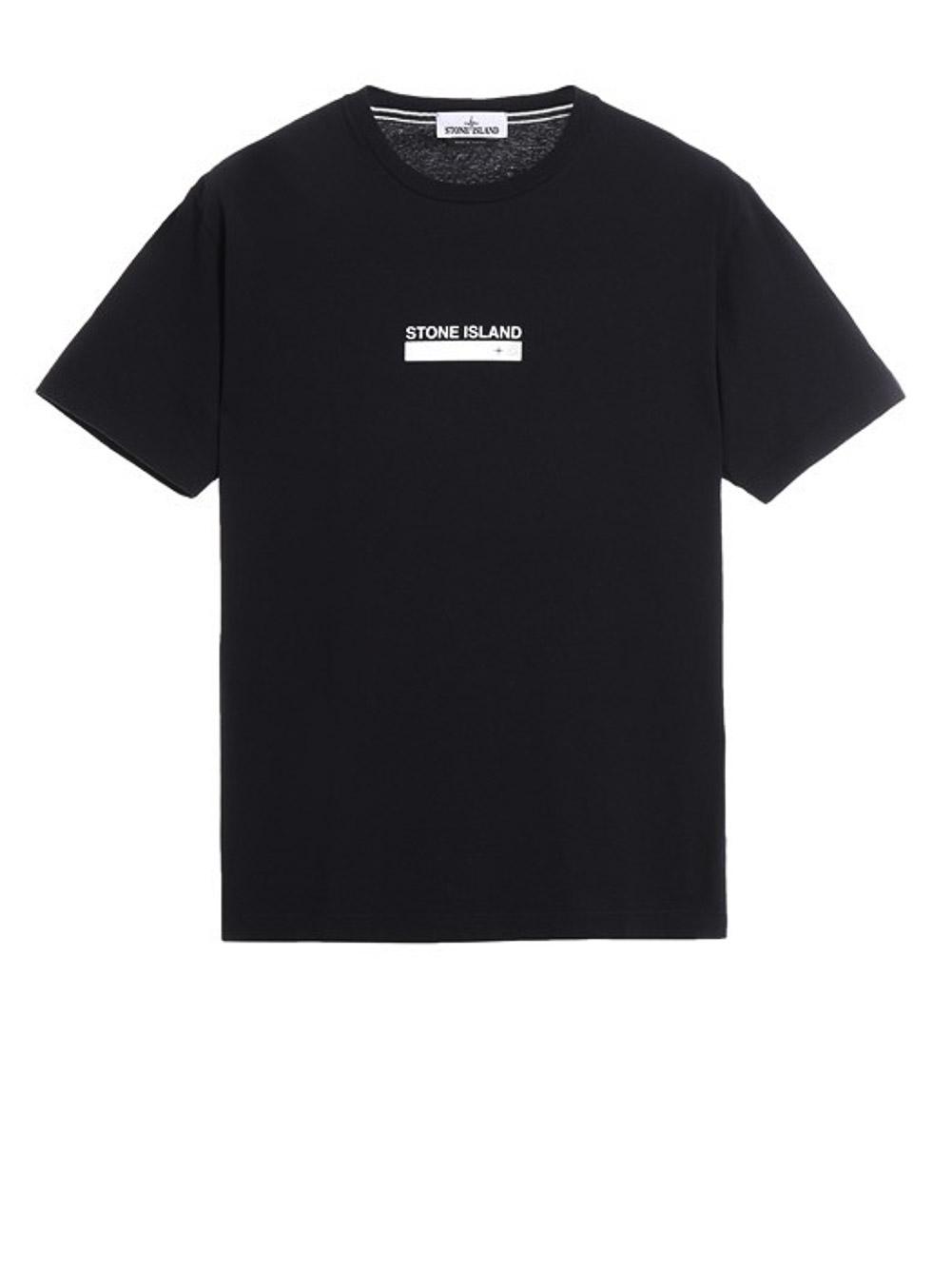 STONE ISLAND Μπλούζα T-Shirt MO74152NS55-V0029 ΜΑΥΡΟ