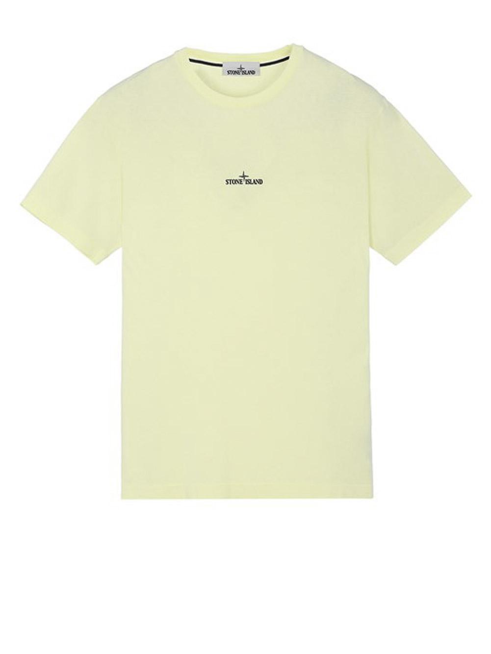 STONE ISLAND Μπλούζα T-Shirt MO74152NS85-V0031 ΚΙΤΡΙΝΟ