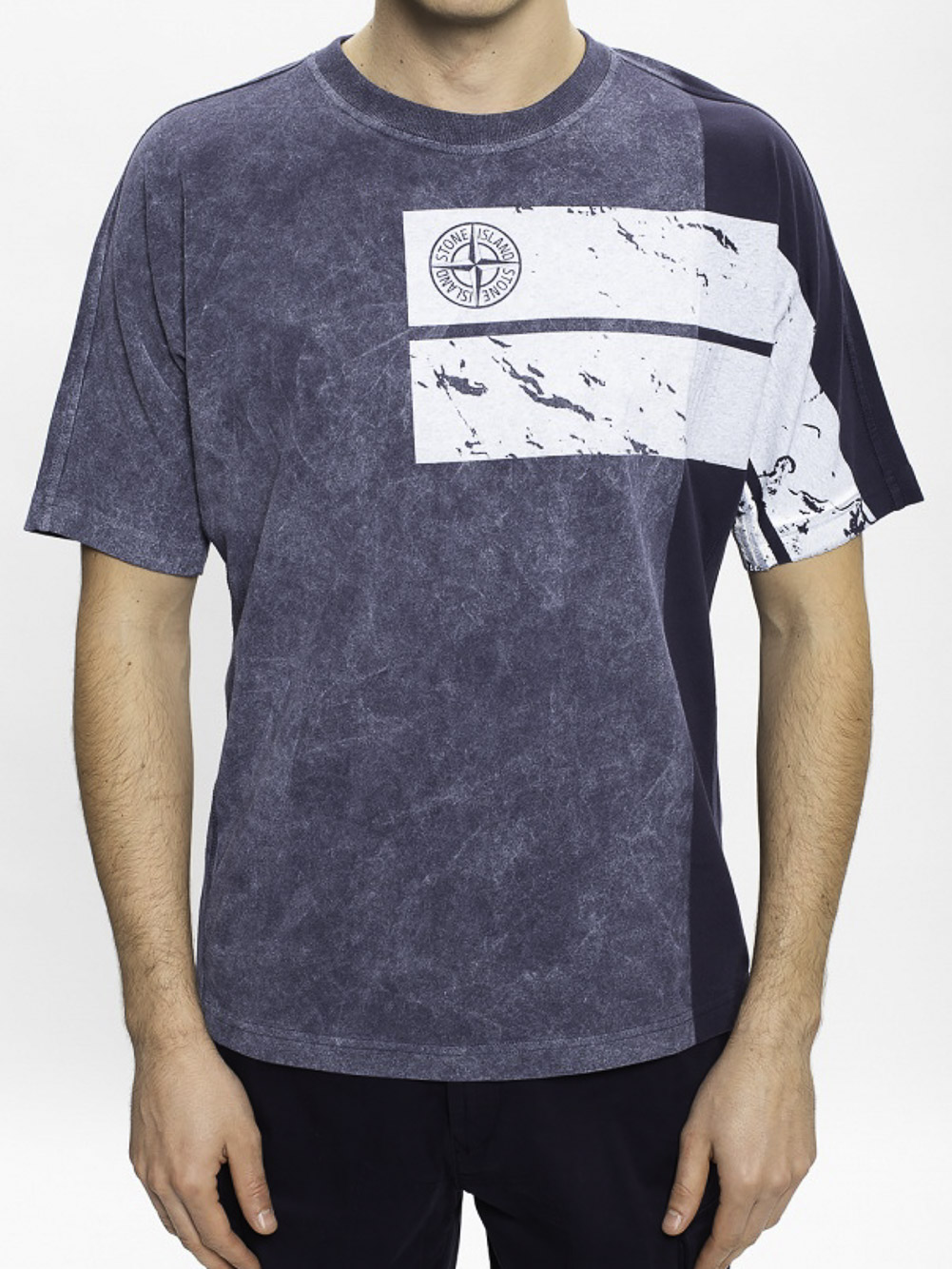STONE ISLAND Μπλούζα T-Shirt MO731520892-V0028 ΓΚΡΙ