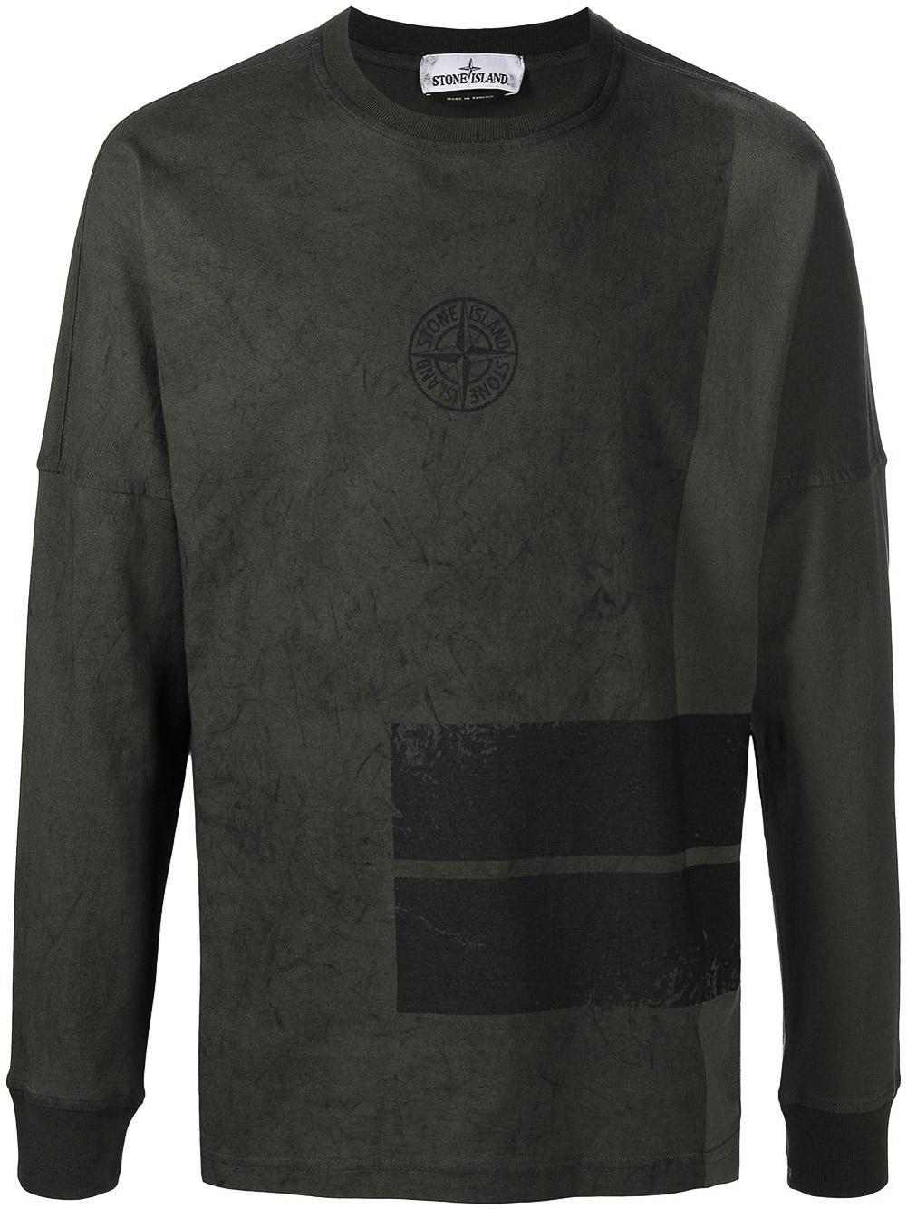 STONE ISLAND Μπλούζα T-Shirt MO731520792-V0059 ΧΑΚΙ
