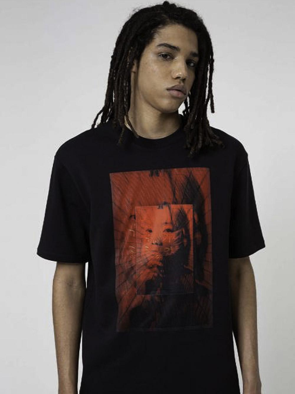 BOSS Μπλούζα t-shirt 50446806-001 ΜΑΥΡΟ