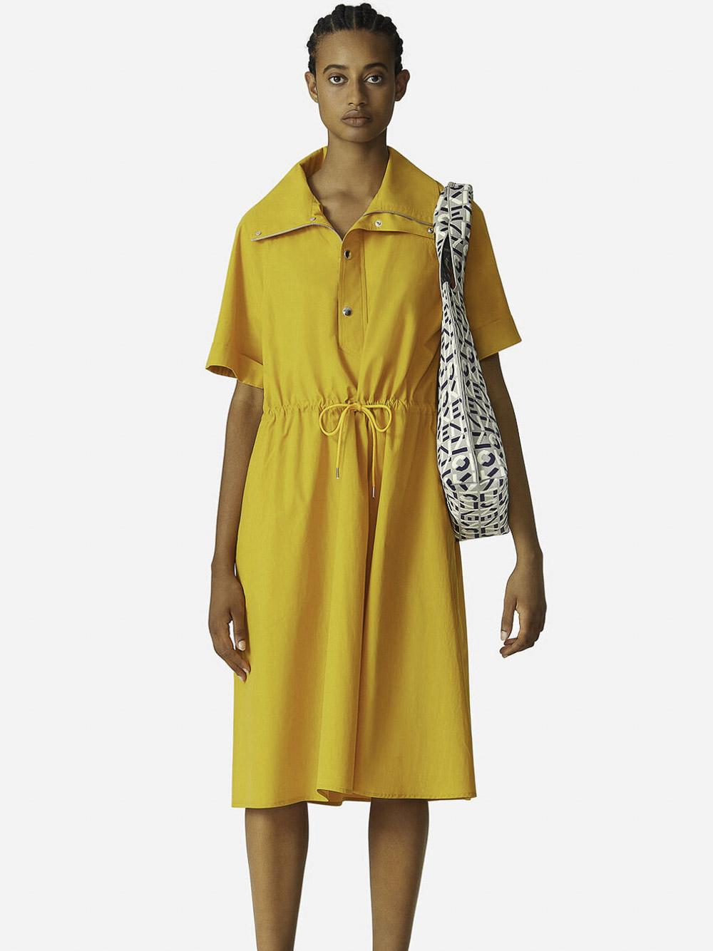 KENZO Φόρεμα μακρύ 2RO0269SA-41 ΚΙΤΡΙΝΟ