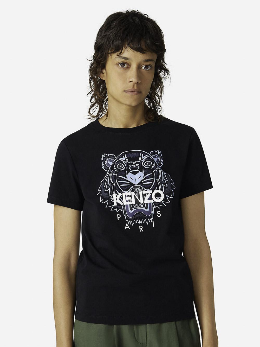KENZO Μπλούζα t-shirt 2TS8484YB-99 ΜΑΥΡΟ