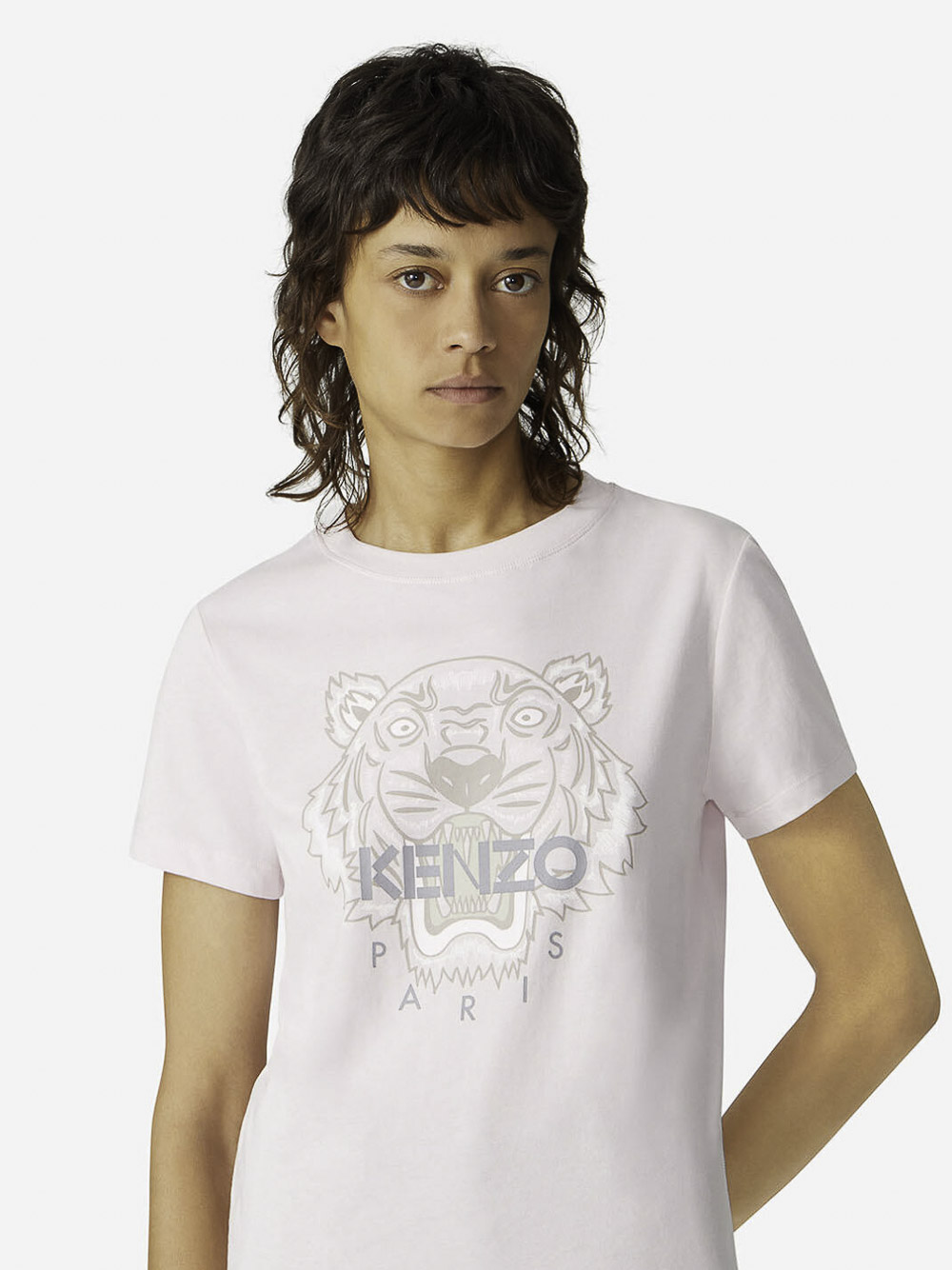 KENZO Μπλούζα t-shirt 2TS8484YB-34 ΡΟΖ