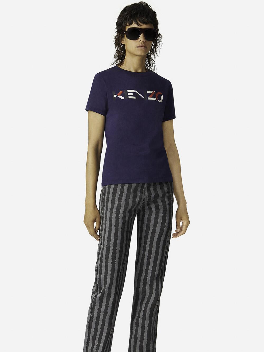 KENZO Μπλούζα t-shirt 2TS8404SA-76 ΜΠΛΕ