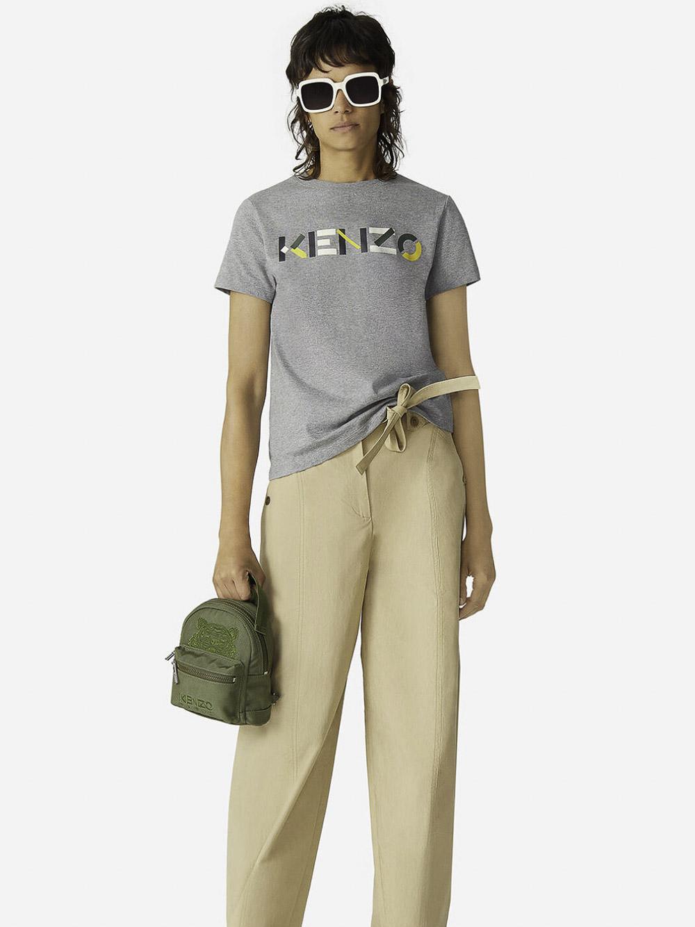 KENZO Μπλούζα t-shirt 2TS8404SA-95 ΓΚΡΙ