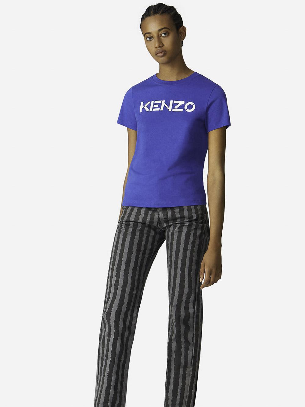 KENZO Μπλούζα t-shirt 2TS8414SJ-71 ΗΛΕΚΤΡΙΚ