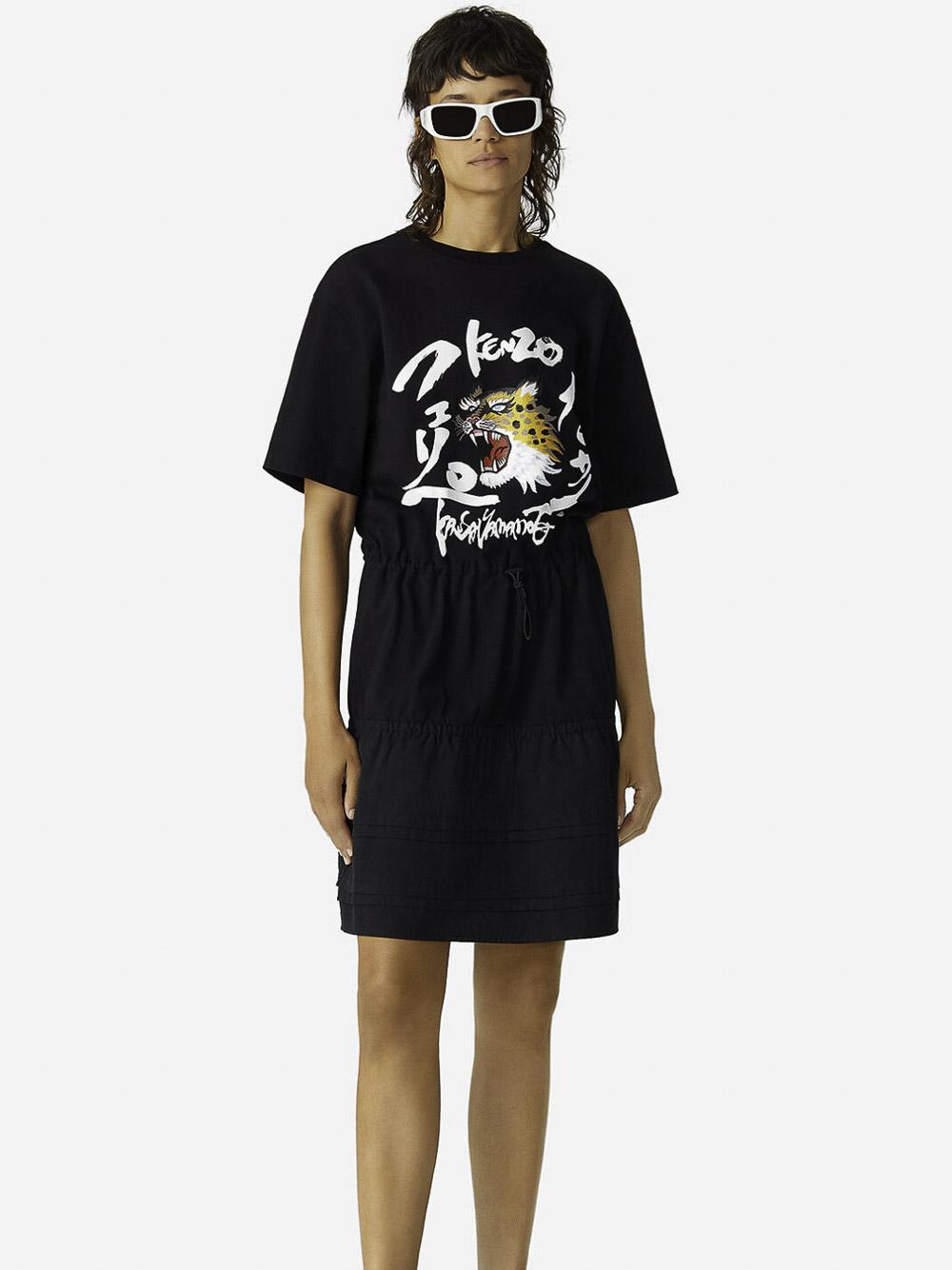KENZO Φόρεμα κοντό 2RO7784SK-99 ΜΑΥΡΟ