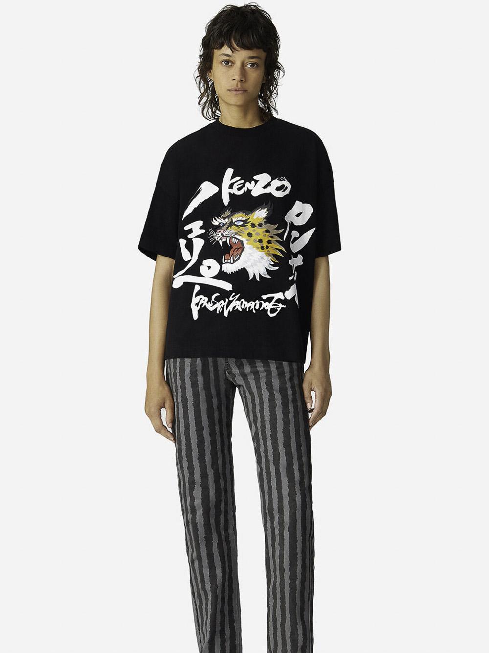 KENZO Μπλούζα t-shirt 2RO7784SK-99 ΜΑΥΡΟ