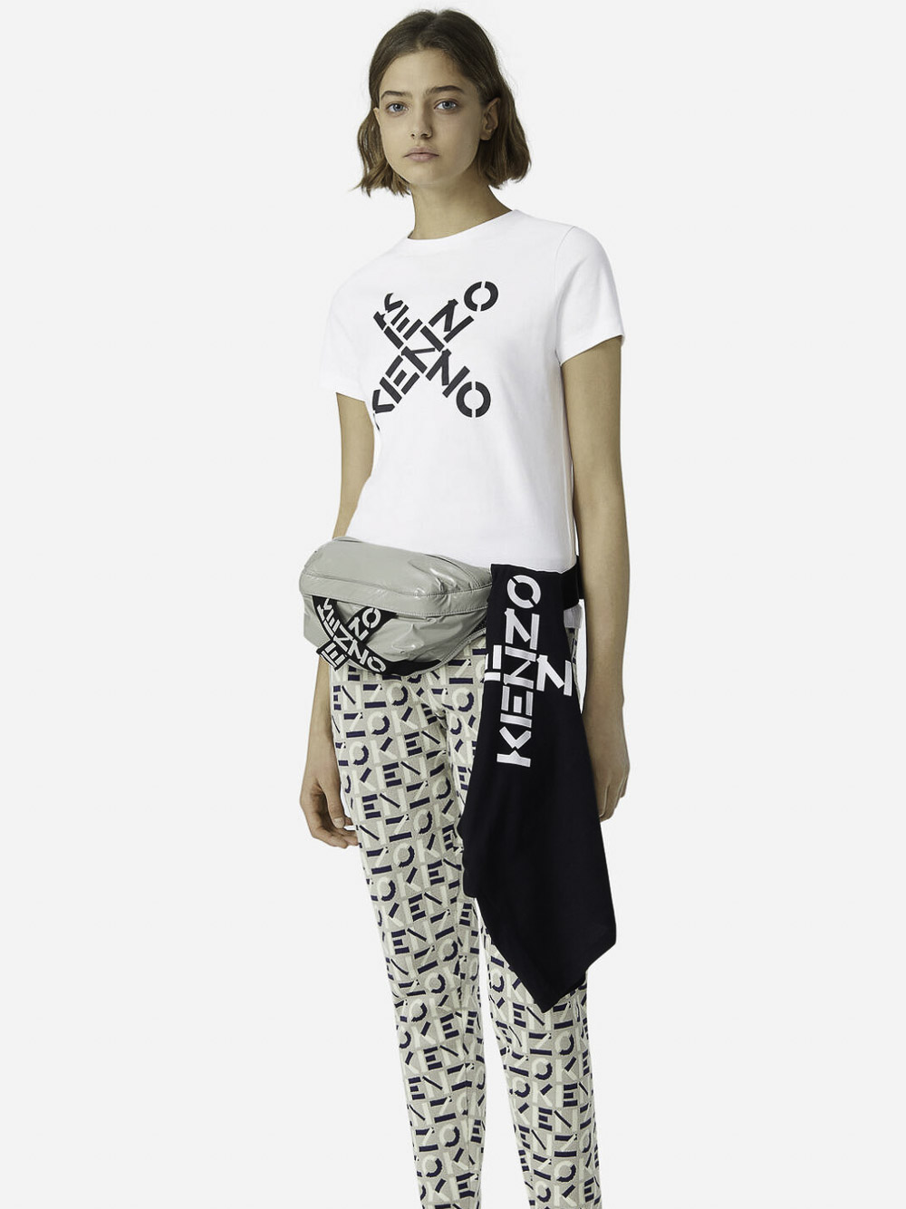 KENZO Μπλούζα t-shirt 2TS8504SJ-01 ΛΕΥΚΟ
